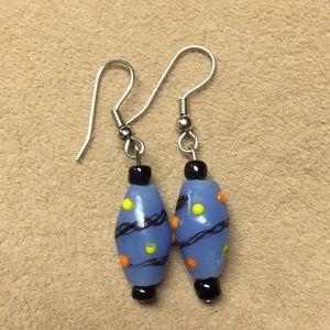 Jewelry - Glass bead earrings